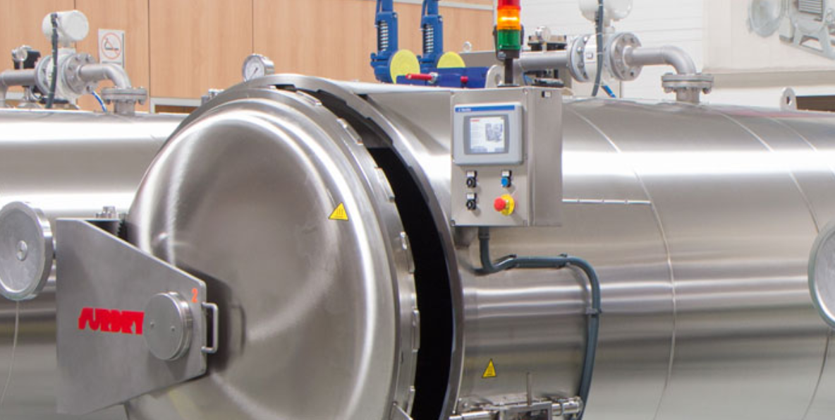 Advantage of monitoring product temperature with a data logger in the retorts