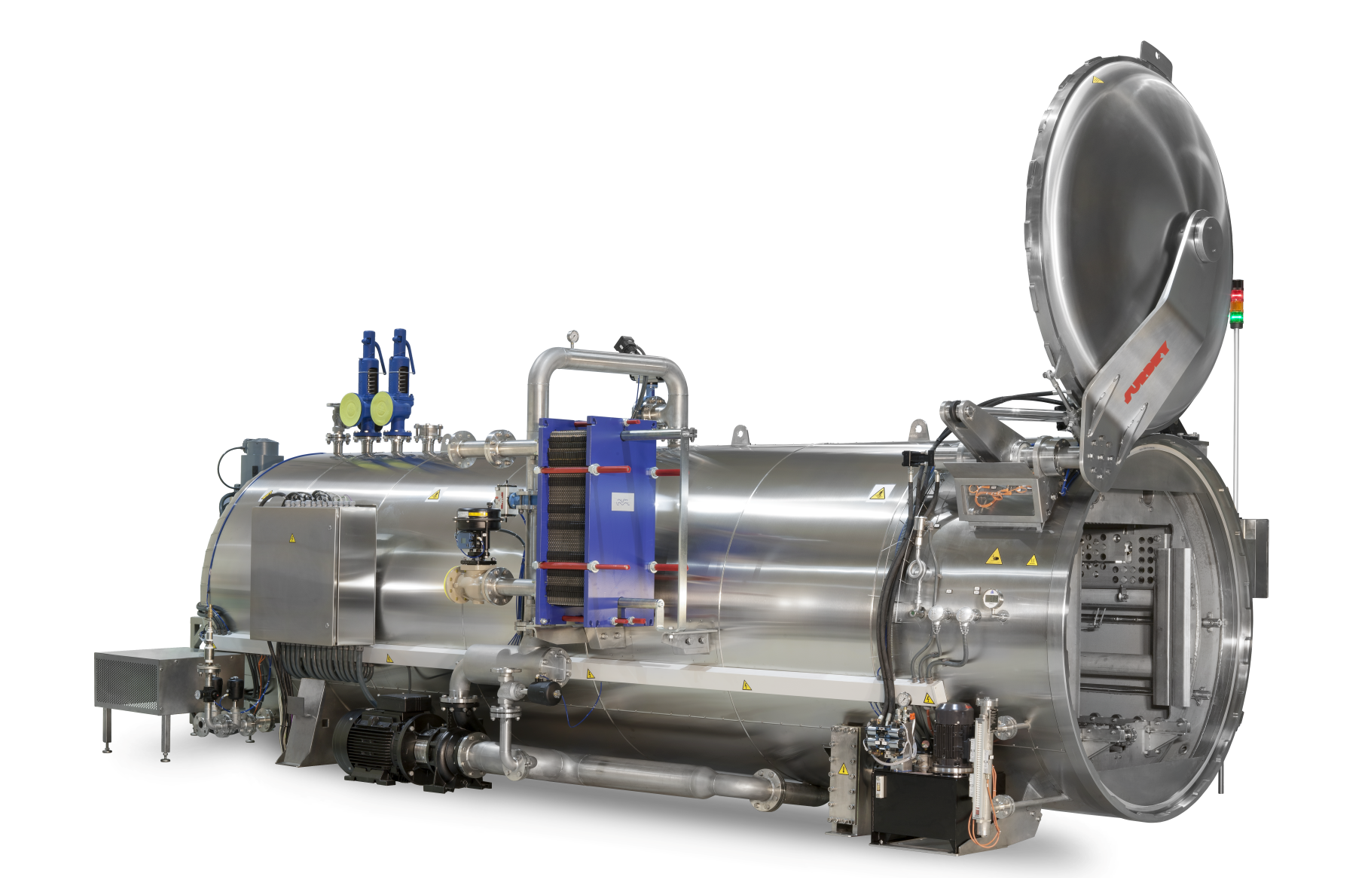 The advantages of the sterilization by direct steam injection into the retort